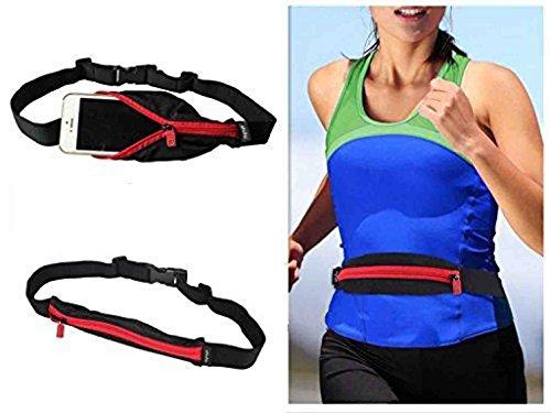 GKP Products Universal Sports Running Waist Pocket Belt Case for All Mobiles Model 425396