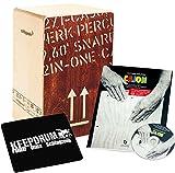 SCHLAGWERK CP 404Red 2Snare Cajon Large + Cajon lehrbuch rythme école avec CD keepdrum sitzpad...