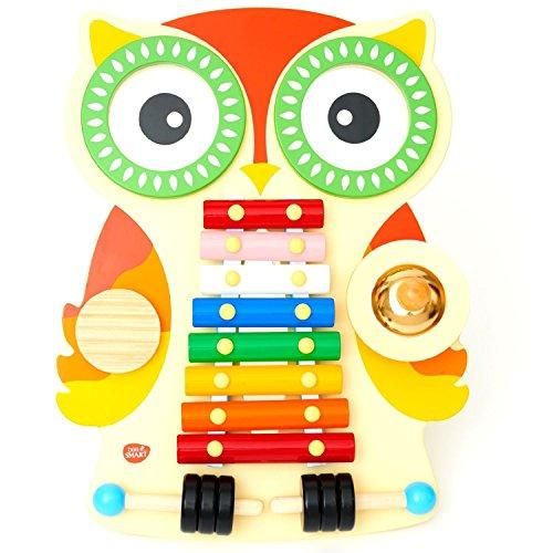 musiktisch-aus-holz-musikcenter-mit-glockenspiel-xylophon-2-trommeln-guiro-und-cymbal-mit-2-klopfer-