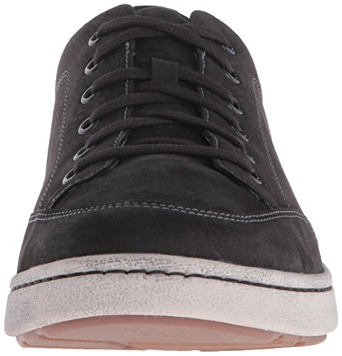 Dansko Mens Vaughn Fashion Sneaker Black Milled Nubuck