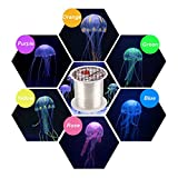 SENZEAL 6X Künstliche Quallen Aquarium Dekorative Angelschnur Sortierte Farbe