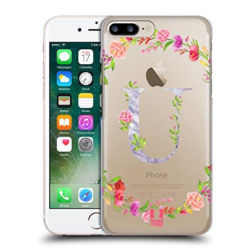 Head Case Designs Buchstabe T Dekorative Initialen 2 Ruckseite Hülle für Apple iPhone 6 / 6s Buchstabe U