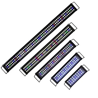 Aquarium Éclairage Simulation Lumières Lampe Lumière du Jour À LED Plein Spectrum Corail Poisson Fish Tank Réservoir Embout À Éclairage Lumière