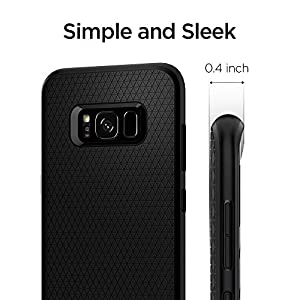 Spigen Liquid Air Samsung Galaxy S8 Case for Galaxy S8 - Black 565CS21611
