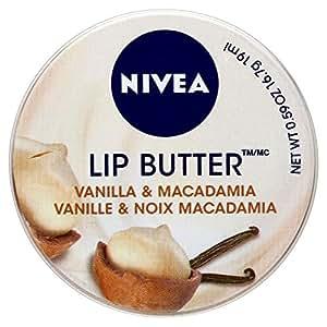 Nivea Beurre Pour Les Lèvres - Vanille Et Noix De Macadamia