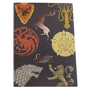 Juego de color de juego de tronos Casa Sigil A5, de cuadrícula