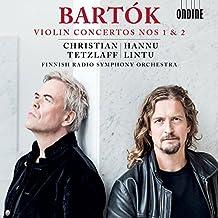 Bartok: Violin Concertos Nos 1 & 2 [Christian Tetzlaff; Finnish Radio Symphony Orchestra; Hannu Lintu] [Ondine: ODE 1317-2]