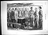 1878 MilitärSoldat-Kasernen-WeihnachtsKriegs-HundeAntiken-Druck hier kaufen