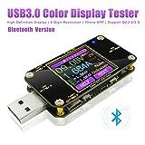 Testeur de Tension USB et testeur avec Bluetooth Meter multimètre TypeCVoltmètre