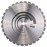 Bosch Pro Kreissägeblatt Constuct Wood zum Sägen in Baustellenholz für Tischkreissägen (Ø 450 mm)