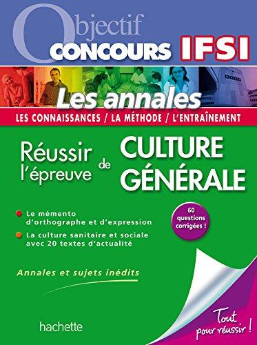 Objectif Concours - Les fiches - Les tests d'aptitude au concours IFSI Nouvelle Édition