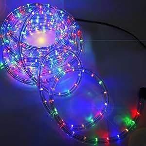 Guirlande lumineuse Noel LED 10m multicolore Intérieur / Extérieur - electrique