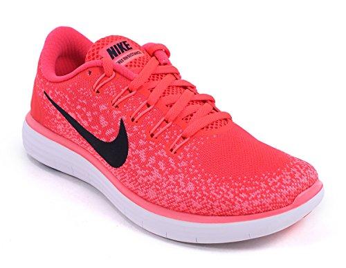 Nike Wmns Free Rn Distance, Scarpe da Corsa Donna Arancione (Naranja (Brght Crmsn / Blck-Hypr Orng-Wht))