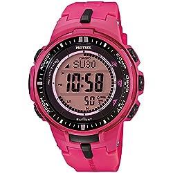 Casio PRW-3000-4BDR - Reloj , correa de goma color rosa