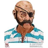 Maschera Pirati con aperte Bocca / Maschera lattice / Maschera di pirata / Halloween / Carnevale / Costume Halloween Accessori