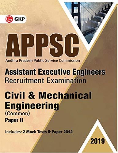 APPSC 2019 Assistant Executive Engineers - Civil & Mechanical Engineering Paper-II