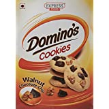 Express Foods Walnut Chocolate Chip Dominos Cookies, 200g