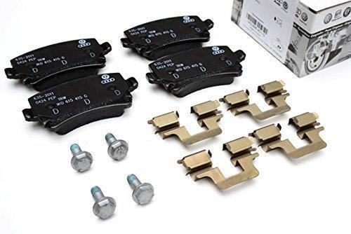 Volkswagen - Set Completo Pastiglie Freni Originale, Posteriori, per Golf 5, Scirocco, Polo