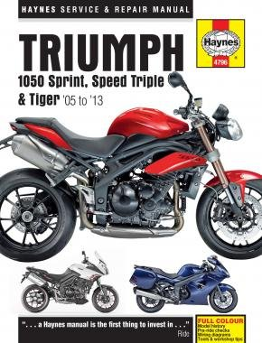 Price comparison product image Triumph 1050 Sprint GT ST,  Speed Triple R & Tiger SE Sport 2005-2013 Haynes Manual