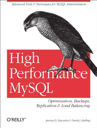 High Performance MySQL: Optimization, Backups, Replication, Load Balancing & More (Advanced Tools and Techniques for MySQL Administrators) (English Edition)