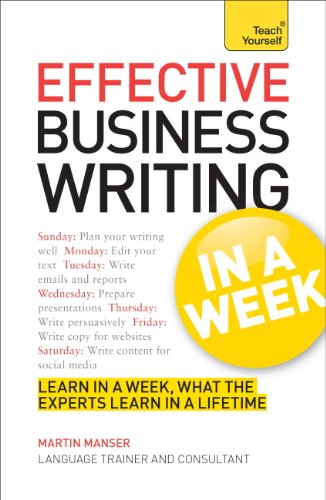 effective-business-writing-in-a-week-teach-yourself-english-edition