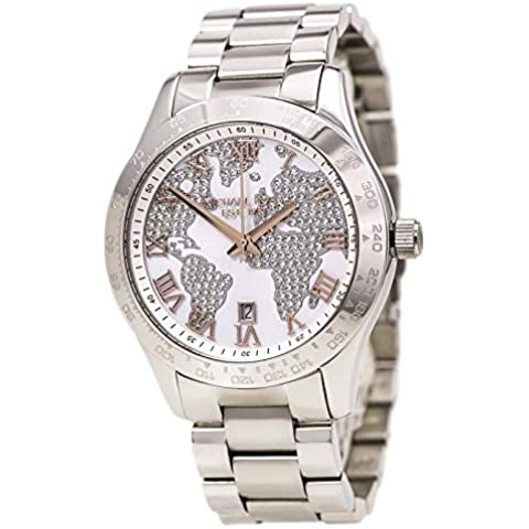 Michael Kors MK5958 - Reloj de pulsera Mujer, Acero inoxidable, color Plata