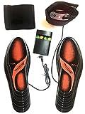 Beheizbare Einlegesohlen Thermosohlen mit Zwei Warmstufen, Größe: 36-47(zuschneidbar), waschbar - 2