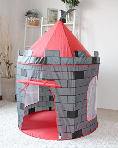 Kinder Bällebad Zelt Spielzelt Jungen Schloss Burg (Schloss Burg)