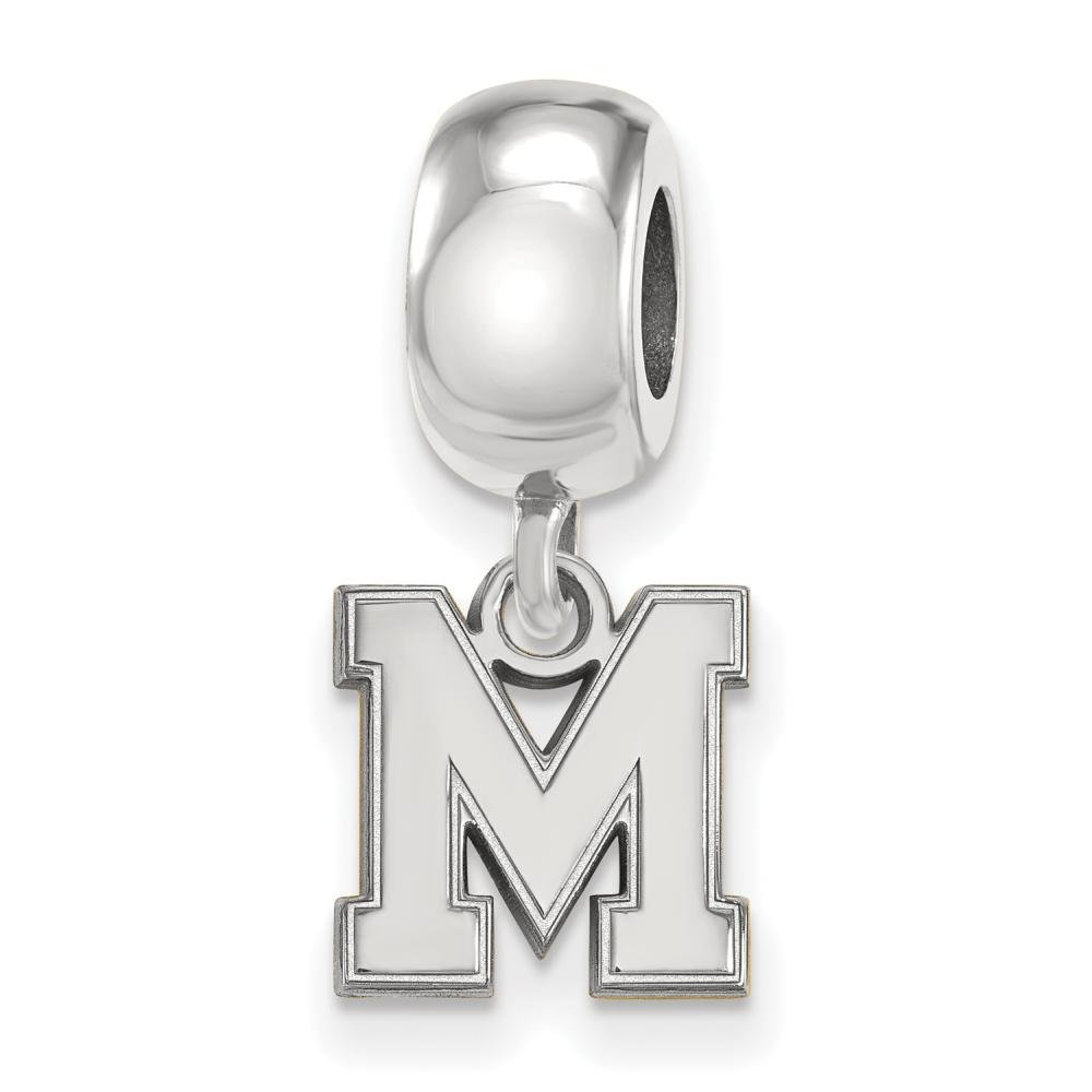 Memphis extra Small (3/20,3�cm) con charm in argento Sterling ()