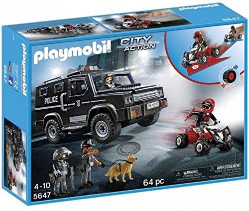 PLAYMOBIL 5647 City Action Polizei SUV
