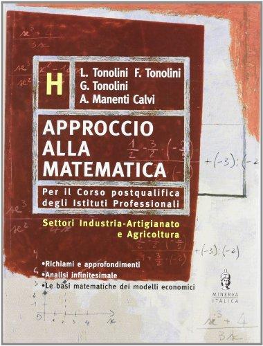 Approccio alla matematica. Vol. H