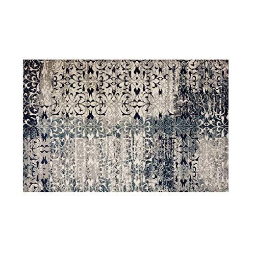 GXLO Persian Floral Oriental Formal Traditioneller Bereich Teppich Leicht Zu Reinigen Fleck Fade Resistant Shed Distressed Modern Dick Weicher Plüsch,A,160 * 230CM (Oriental Bereich Teppich)
