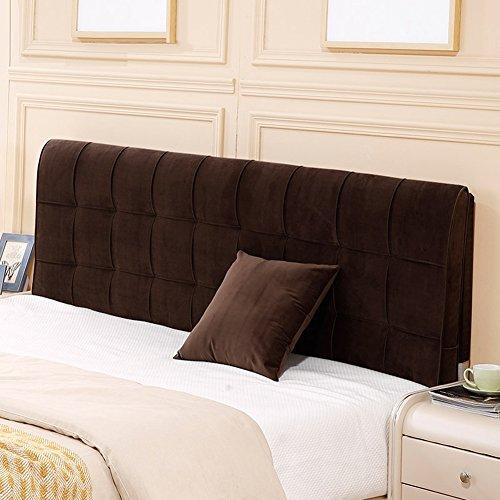 HAIPENG Rückenlehne Bett Kissen Ohne Kopfteil Nachttisch Abdeckung Weich Sofa Kopfstütze Gepolstert Lendenwirbelsäule Pad Modern Stilvoll, 7 Farben, Multi Größen