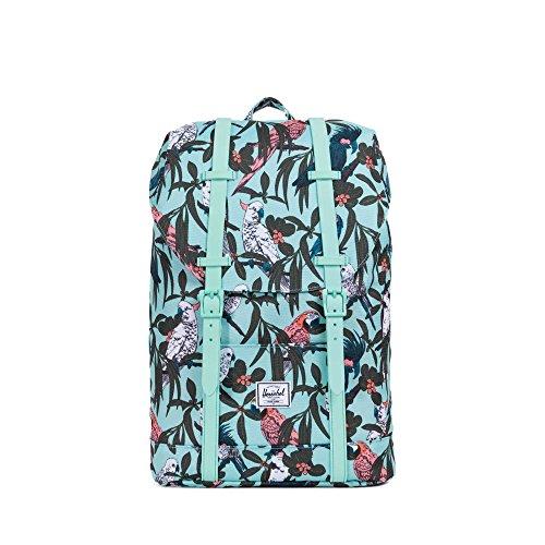 Imagen de herschel retreat mid volume backpack , lucite green parlour