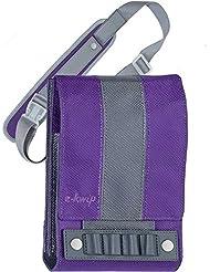 e-kwip Trousse sac banane à accessoires violet WMsNhcKzPa