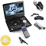 Isabella 7.8 Inch Portable Dvd Player Tft Lcd Swivel Screen With +Game+Mp3+Usb+Sd - B0795RZJCX