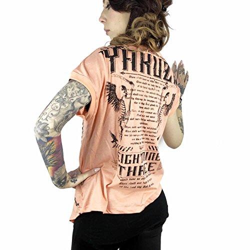 Yakuza Femme Hauts / T-Shirt Bandeau Orange