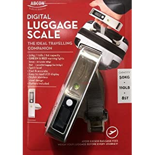 ABCON Digital Luggage/Baggage Scale with Spirit Level Indicator
