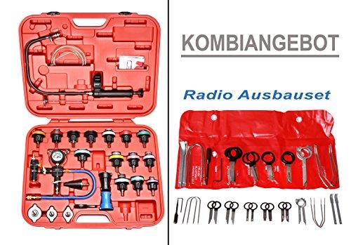 Kit Purge Refroidissement, Testeur de système de refroidissement+ Kit universel d'extraction d'autoradiopas cher