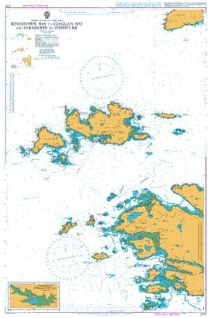 Price comparison product image 2707 Kingstown Bay to Cleggan Bay and Inishbofin Admiralty Chart