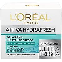 L'Oréal Paris Attiva Hydrafresh Gel-Crema Idratante Fresco