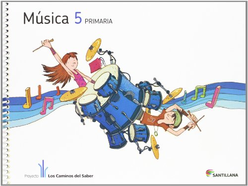 MUSICA + CD 5 PRIMARIA - 9788468009605 por Vv.Aa.