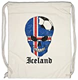 Urban Backwoods Iceland Football Skull I Borsa da Palestra Sportiva