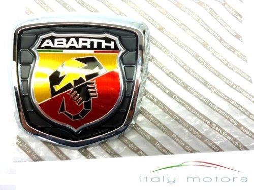 Abarth-logo (Original Fiat 500 Abarth Emblem hinten Heckemblem Firmenzeichen Logo - 735496473)