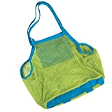 Demarkt Large Mesh Tote Bag Clothes Toys Carry All Sand Away Beach Bag for kids