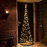 Tür-Lichterkette Weihnachtsbaum für Türen Weihnachtsbeleuchtung innen außen