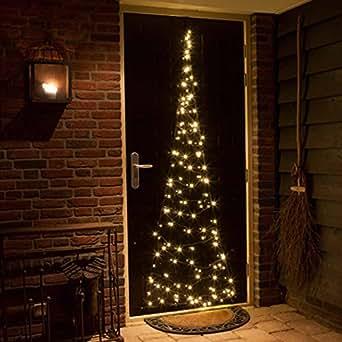 T r lichterkette weihnachtsbaum f r t ren for Amazon weihnachtsbaum
