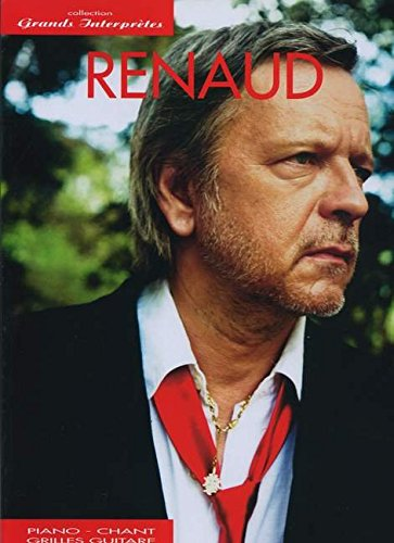 Grands Interpretes Piano Chant Guitare par Renaud