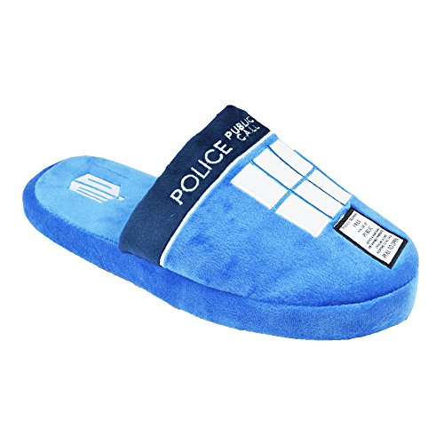 GROOVY - Chaussons Tardis Doctor Who Multicolore