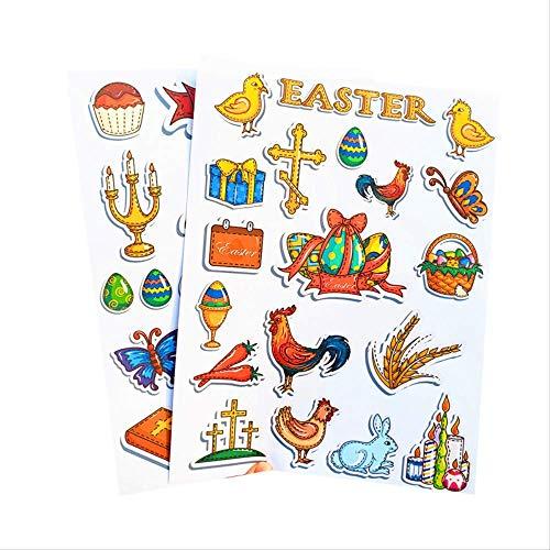 Oster Sticker Papier Flat Sticker Osterei Sticker 20X26Cm